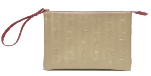 Maison Mollerus Vinerus Star Gold Clutch/ Kosmetiktasche Camoghe Gold