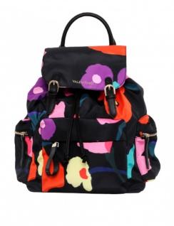 Valentino Bags Rucksack Registan klein, Nero / Multicolor
