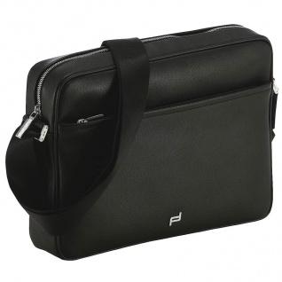 Porsche Design Cosmo Shoulderbag MH / Umhängetasche, schwarz