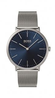 Hugo Boss Herren Uhr Horizon Edelstahl, 1513541