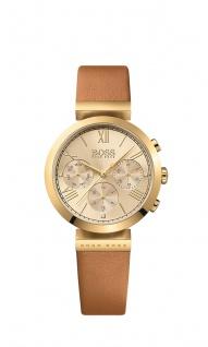 Hugo Boss Damen Uhr Classic Women Sport Leder braun, 1502396