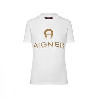 Aigner T- shirt weiß, 252009
