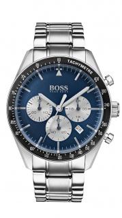 Hugo Boss Herren Uhr Trophy Edelstahl silber, 1513630