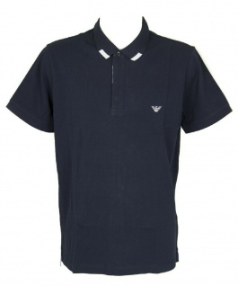Emporio Armani Herren Polo Shirt, Dunkelblau 211804 Gr. S