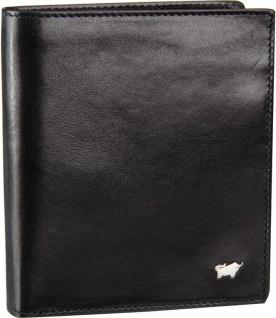Braun Büffel Portemonnaie Gaucho, schwarz 34343
