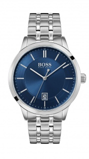 Hugo Boss Herren Uhr Officer Edelstahl, 1513615