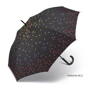 Happy Rain Stockschirm , schwarz-gepunktet (Variante 2) - Vorschau