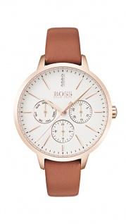 Hugo Boss Damen Uhr Symphony Leder braun, 1502420
