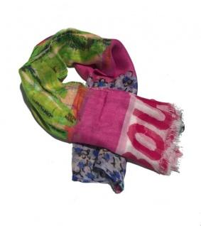 Boutique Moschino Schal, Pink / gemustert