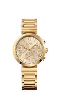 Hugo Boss Damen Uhr Classic Women Sport Edelstahl gold, 1502403