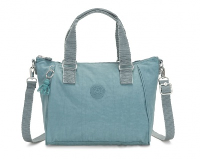 Kipling Handtasche / Umhängetasche Amiel, Aqua Frost