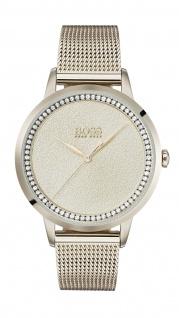 Hugo Boss Damen Uhr Twilight Edelstahl Roségold, 1502464