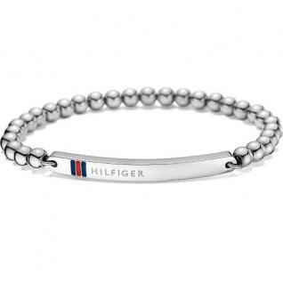 Tommy Hilfiger Damen Armband Edelstahl, silber 2700786