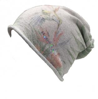 Norton Beanie / Mütze, grau mit grün