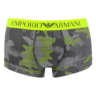 Emporio Armani Basic Stretch Cotton Trunk gemustert, 111389