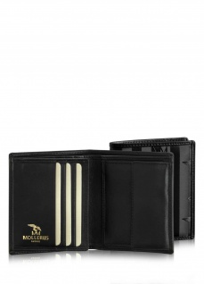 Maison Mollerus Vinerus Black Portemonnaie, Beverin gold - Vorschau 3