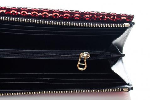 Aigner Fashion Geldbörse, Metallic Look, 156133 Brick Red - Vorschau 3