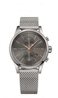 Hugo Boss Herren Uhr Jet Edelstahl, 1513440