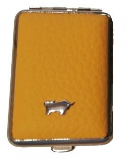 Braun Büffel Pillendose Golf, Gelb 39085