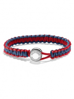 Tommy Hilfiger Men's Casual Herrenarmband, blau/rot 2700944