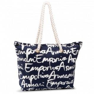 Emporio Armani Shopper / Strandtasche, Blau 262653