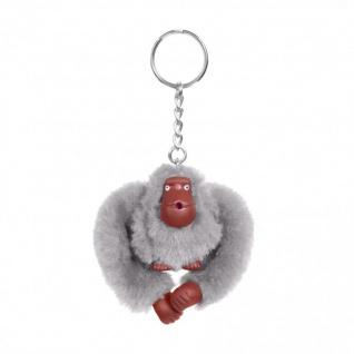 Kipling Taschen-/ Schlüsselanhänger, Affe Sarah, grau