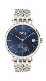 Hugo Boss Herren Uhr Corporal Edelstahl, 1513642