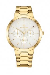 Tommy Hilfiger Damen Uhr Alessa - Dressed Up Edelstahl Gold, 1782077