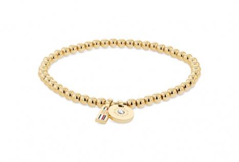 Tommy Hilfiger Damen Armband Dressed Up Edelstahl Gold, 2780454