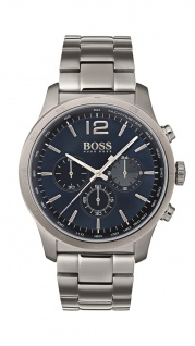 Hugo Boss Herren Uhr Rafale Edelstahl, 1513510