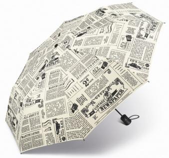 Happy Rain Taschenschirm, Newspaper