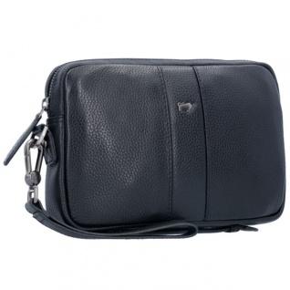 HCL Mini Portemonnaie Tampon Etui, Leder Blau Kaufen bei