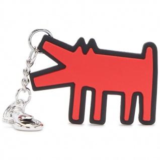 """Kipling Taschenanhänger / Schlüsselanhänger Dog """" by Keith Haring"""", KH Public Art"""