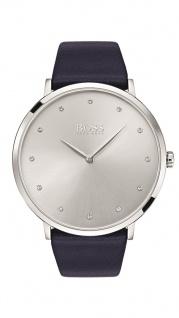 Hugo Boss Damen Uhr Jullian Leder dunkelblau, 1502410