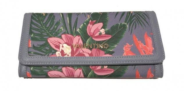 Valentino Portemonnaie Atlantic Flap, ceruleo/ multicolour