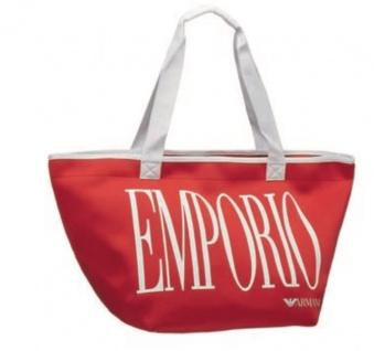Emporio Armani Badetasche / Strandtasche, Rot 262886