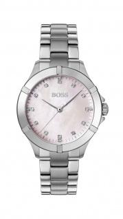 Hugo Boss Damen Uhr Mini Sport - Athleisure Edelstahl Silber, 1502469