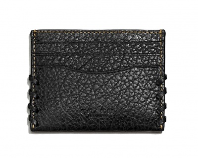 Coach Kreditkartenetui/ Flat Card Holder, Schwarz 59291