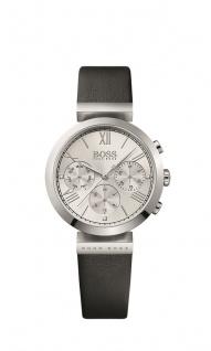 Hugo Boss Damen Uhr Classic Women Sport Leder schwarz, 1502395