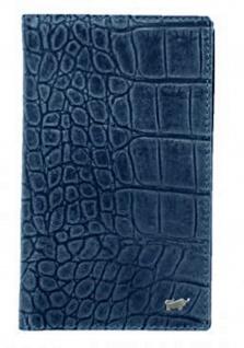 Braun Büffel Brieftasche Lisboa Jeans / Blau, 69149