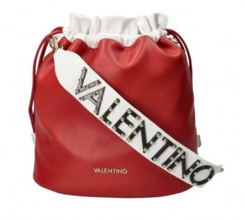 Valentino Bags Beuteltasche / Umhängetasche Pakita, Rosso / Bianco
