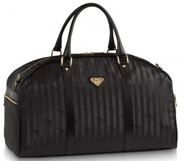 Maison Mollerus Vinerus Black Reisetasche / Sporttasche, Nufenen Gold