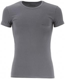 Emporio Armani Herren T-Shirt, Grau 111035 Größe L