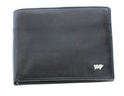 Braun Büffel Portemonnaie Gaucho, schwarz 33132