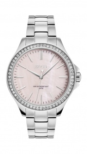 Hugo Boss Damen Uhr Victoria Edelstahl, 1502451