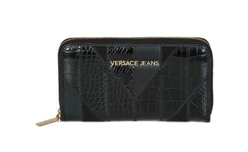 Versace Jeans Portemonnaie, Schwarz, E3VSBPP1