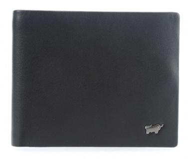 Braun Büffel Portemonnaie Luzern, schwarz 14035