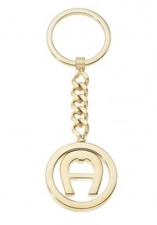 Aigner Schlüsselanhänger Gold, 180088