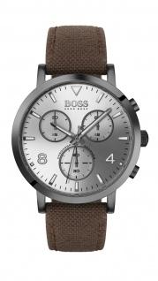 Hugo Boss Herren Uhr Spirit - Casual Nato Braun, 1513690
