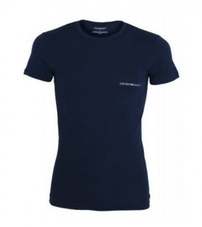 Emporio Armani, Basic Stretch T-Shirt, Marine 111035